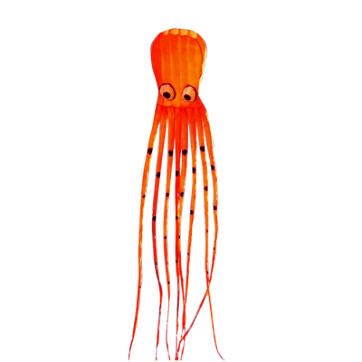 Inflatable Orange Octopus Kite