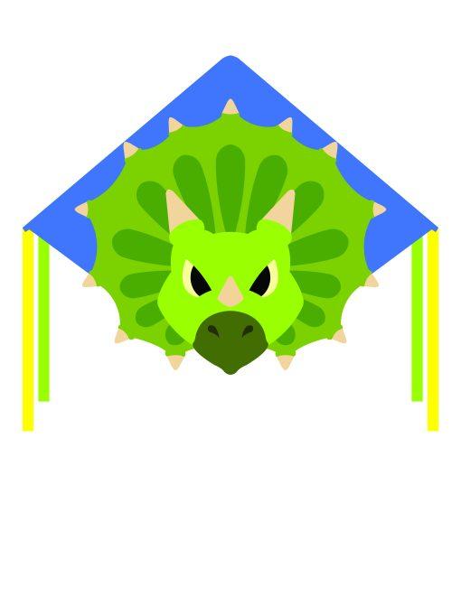 Triceratops Dinosaur kite