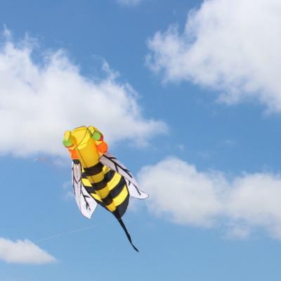 Inflatable bee kite